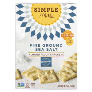 Weekly Wrap-Up | Simple Mills Sea Salt Almond Flour Crackers | rashon